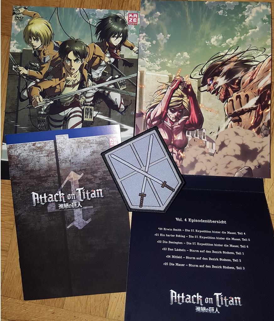 DVD: Attack On Titan Vol. 4 (DVD-Serien)
