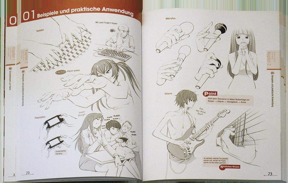 Manga-Zeichenstudio: Hände & Füße - animePRO.de