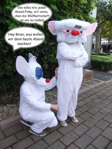 Brain Cosplay Von Schokodrink Auf Animexxde