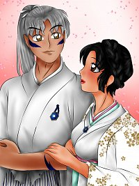 Fanart: Das Brautpaar