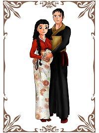 Fanart: Das Paar des Ostens