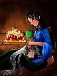Fanart: Sleeping Taisho