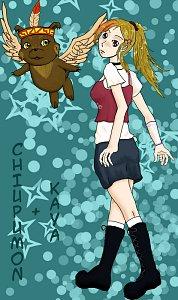 Fanart: Kayako und Chiupumon