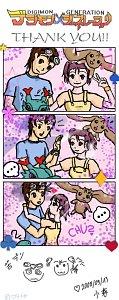 Fanart: Digimon Alpha Generation - Shashin