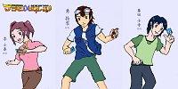 Fanart: Digimon Alpha Generation - Maincast