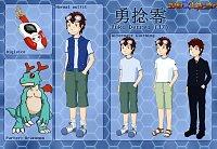 Fanart: Character Reference: Yuki Denrei