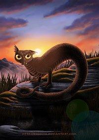 Fanart: Monsterama: Tatzelwurm