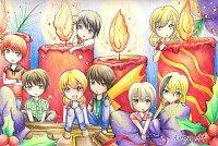 Fanart: Elementary Christmas
