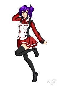 Fanart: Mirâ Shingetsu [Charakterbild]