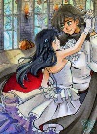 Fanart: Halloween Wichtelkarte für Nagisa_Tsubaragi
