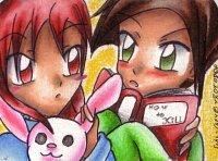 Fanart: ~How to Kill - Sweet demonical Childhood~ **Kakao-Karte 19 für Tekuu**