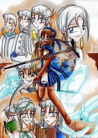 Fanart: Die Familie der Hikari