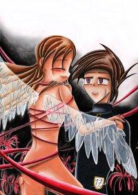 Fanart: Broken Wings