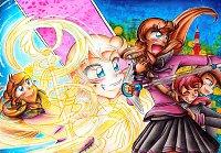 Fanart: Merry go magical Waltz!