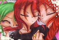Fanart: ~Selbst als Ehemann hat man keine Ruhe vor nervigen Fangirls~ **Happy Kurisumasu mein Wa2!**
