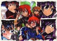 Fanart: ~Rothaarige an die Macht!~ **Kreativer Titel by AnnI!(WUNDER!)** - MiyaToriaka VS Sakuja -