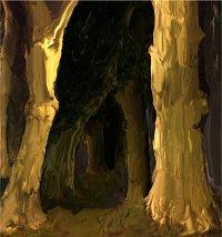 Fanart: Wald-Collage