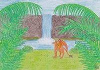 Fanart: Am Wasserfall