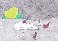 Fanart: Wolfshöhle