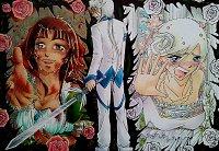Fanart: Weeping Roses - Wichtelbild für AimaiLeafy