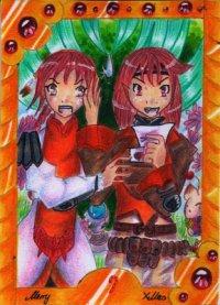 Fanart: Hat das Flachbrett etwa einen Liebesbrief bekommen?! für Tekuu [Weihnachtsgeschenk 2013]