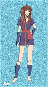 Fanart: Kaya - Prinzessin Mononoke