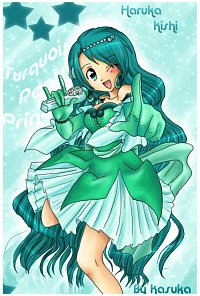 Fanart: Turquoise Pearl Voice!