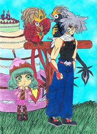 """Fanart: 10 Jahre """"TiS"""": She just wanted to light the candles on the Birthday Cake..."""