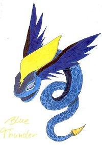 Fanart: Blue Thunder (Aleksej Ljubows Bit-Beast aus TiS)