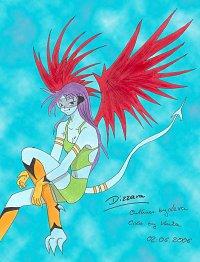 Fanart: Dizzara (2. Version) - By Lexa & Venka