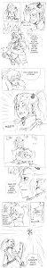 """Fanart: """"Backpapier-Douji"""" zu Himitsu no Mahou für Tekuu zum Geburtstag!!"""