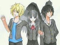 Fanart: ❤ Cedric, Nia, Salvatore ❤