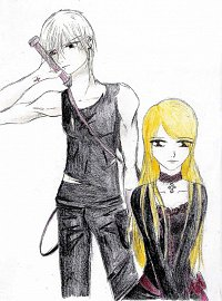 Fanart: Laura Lenz und Benedict Ryu no chi