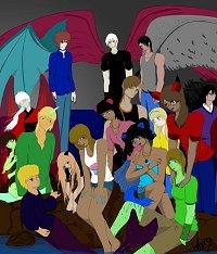Fanart: Demon Girls and Boys