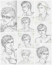 Fanart: Jacks Gesichtsausdrücke