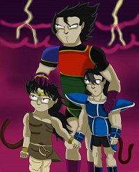 Fanart: FttS of Past - Paragus' Familie