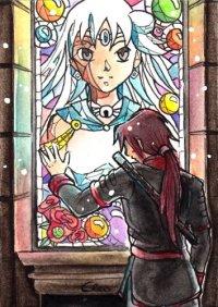 Fanart: #149 - White Goddess (OC-Roulette)
