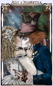 Fanart: FF-Cover > Burtons Alice im Wunderland 2 // AliceXMadHatter♥ ~Color