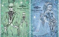 Fanart: FF Chara-Design - [Spoiler!] *~* Weddingstyle *~* AliceXMadHatter♥ ~Lineart