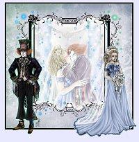 Fanart: *~*Wedding Pic*~* FF Illustration - Von diesem Moment an...*~*// AliceXMadHatter♥