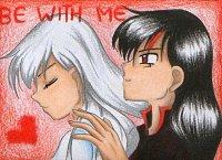 """Fanart: KAKAOKarte #44 """"Be with Me"""" BlackWhiteShipping (Himitsu No Mahou)  ++für Sakuja++"""