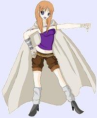 Fanart: [Charactersheet] Tsubasa Sekai: Saiya
