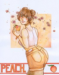 Fanart: Peach Girl