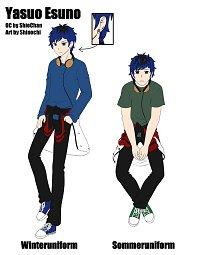 Fanart: Yasuo Esuno [Charaktersheet]
