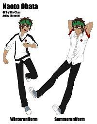 Fanart: Naoto Obata [Charaktersheet]