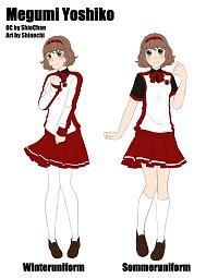Fanart: Megumi Yoshiko [Charaktersheet]
