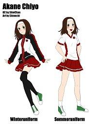 Fanart: Akane Chiyo [Charaktersheet]
