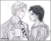 Fanart: Victor & Saki