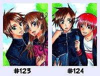 Fanart: #123-124 Himitsu no Mahou