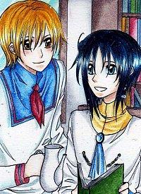 Fanart: #132 Ryo und Grey